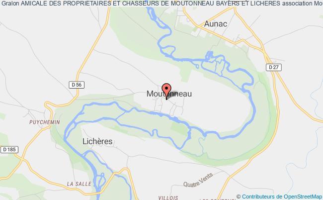 Moutonneau Et Les Villes Proches