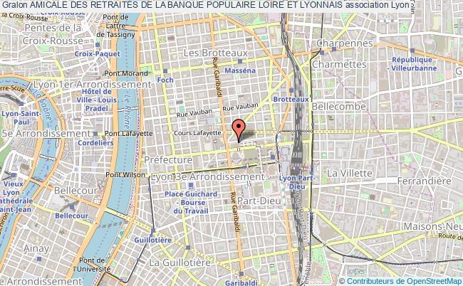 plan association Amicale Des RetraitÉs De La Banque Populaire Loire Et Lyonnais