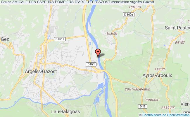 plan association Amicale Des Sapeurs-pompiers D'argeles-gazost Argelès-Gazost