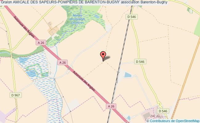 plan association Amicale Des Sapeurs-pompiers De Barenton-bugny