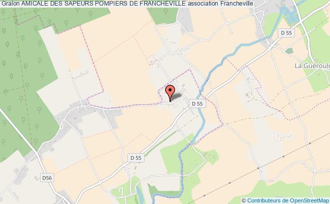 plan association Amicale Des Sapeurs Pompiers De Francheville