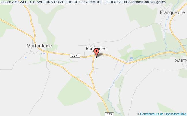 plan association Amicale Des Sapeurs-pompiers De La Commune De Rougeries