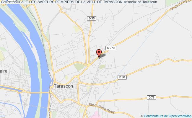 plan association Amicale Des Sapeurs Pompiers De La Ville De Tarascon