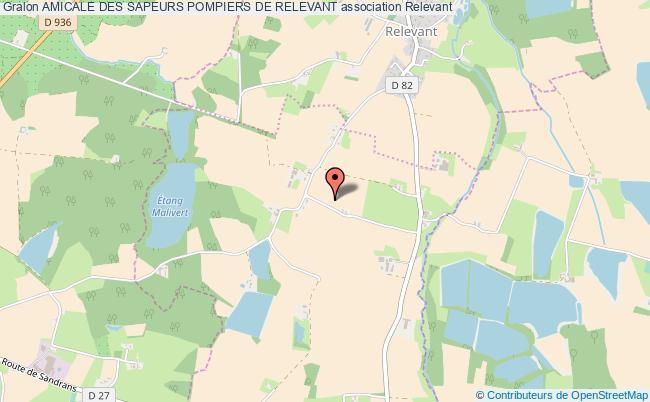 plan association Amicale Des Sapeurs Pompiers De Relevant Relevant
