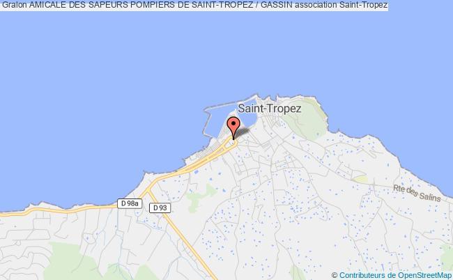 plan association Amicale Des Sapeurs Pompiers De Saint-tropez / Gassin