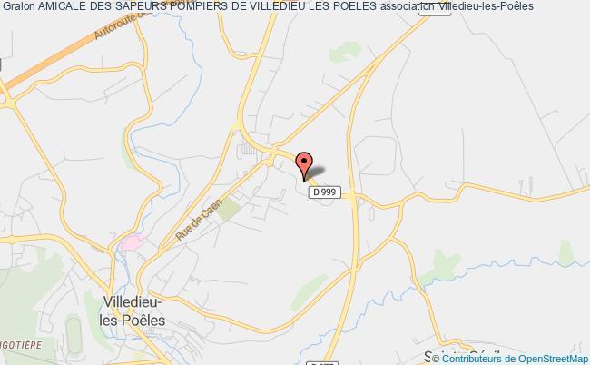 plan association Amicale Des Sapeurs Pompiers De Villedieu Les Poeles Villedieu-les-Poêles
