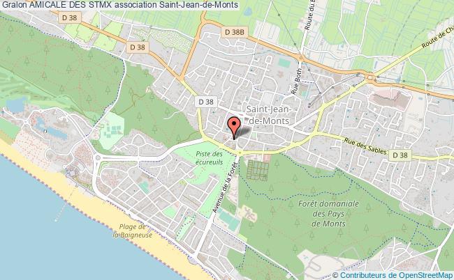 plan association Amicale Des Stmx