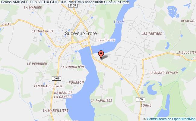 plan association Amicale Des Vieux Guidons Nantais
