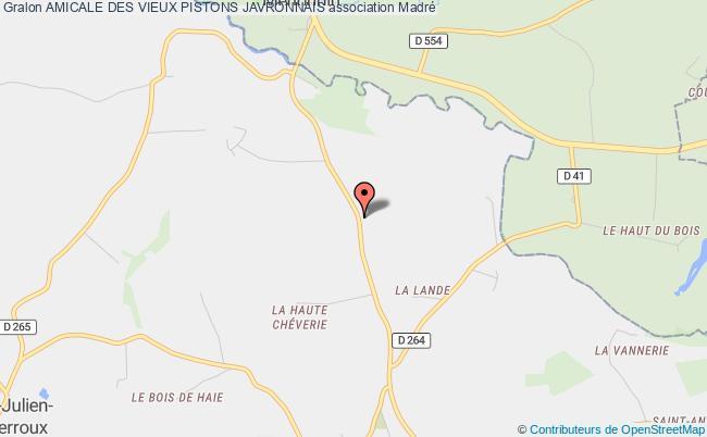 plan association Amicale Des Vieux Pistons Javronnais Javron-les-Chapelles