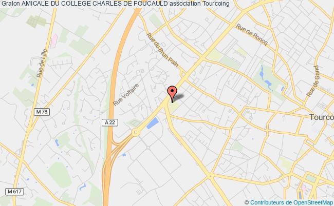 plan association Amicale Du College Charles De Foucauld