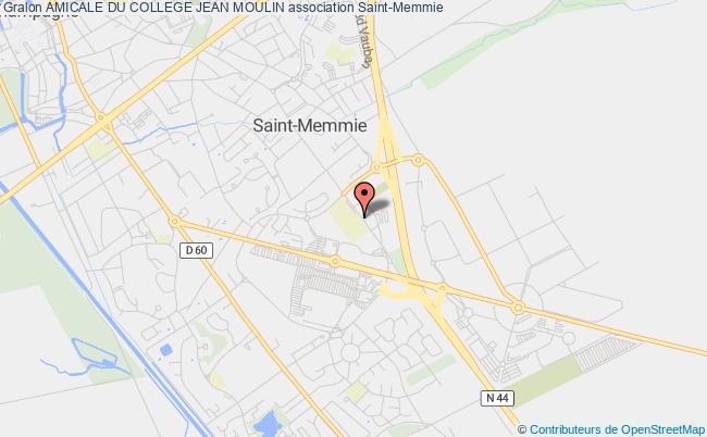 plan association Amicale Du College Jean Moulin