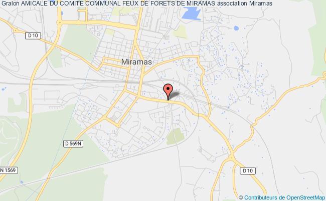 plan association Amicale Du Comite Communal Feux De Forets De Miramas