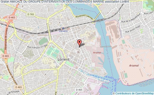 plan association Amicale Du Groupe D'intervention Des Commandos Marine