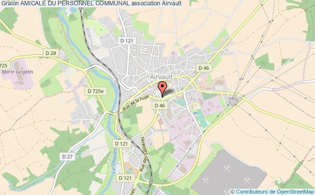 plan association Amicale Du Personnel Communal