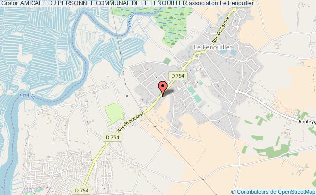 plan association Amicale Du Personnel Communal De Le Fenouiller