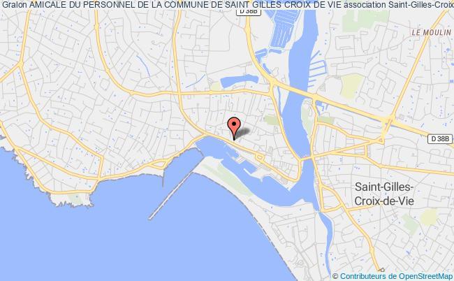 plan association Amicale Du Personnel De La Commune De Saint Gilles Croix De Vie