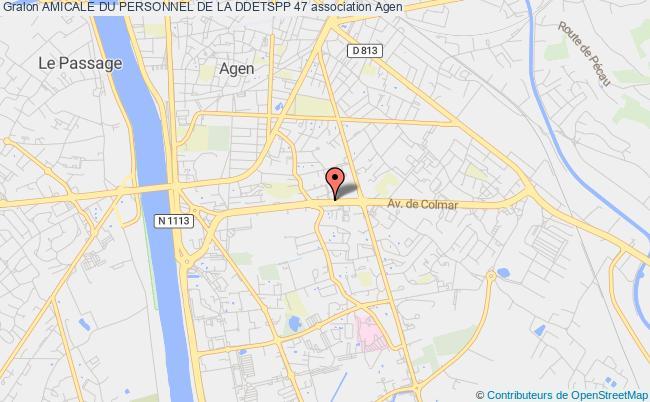 plan association Amicale Du Personnel De La Ddcspp 47
