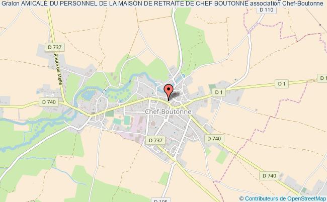 plan association Amicale Du Personnel De La Maison De Retraite De Chef Boutonne