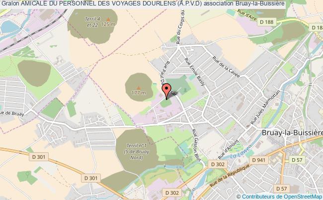 plan association Amicale Du Personnel Des Voyages Dourlens (a.p.v.d)