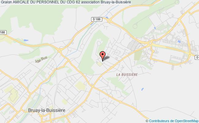 plan association Amicale Du Personnel Du Cdg 62