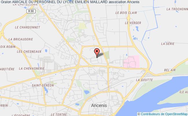 plan association Amicale Du Personnel Du Lycee Emilien Maillard