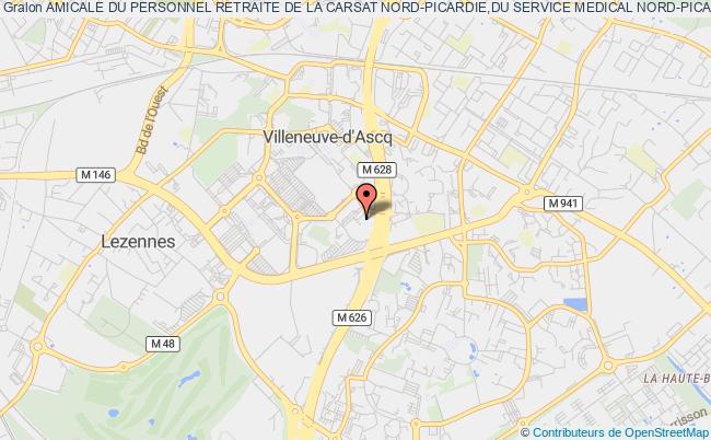 Amicale Du Personnel Retraite De La Carsat Nord Picardie Du Service
