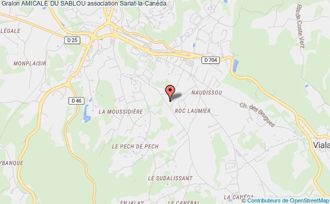 plan association Amicale Du Sablou