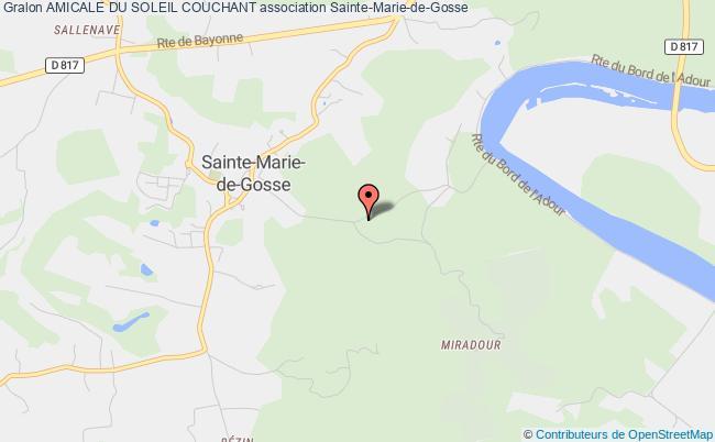 plan association Amicale Du Soleil Couchant