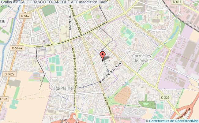plan association Amicale Franco Touaregue Aft Caen