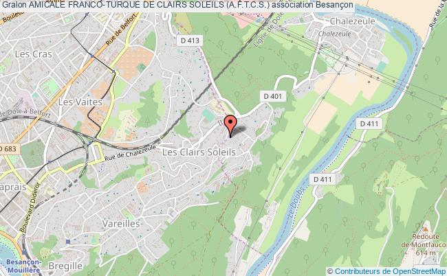 plan association Amicale Franco-turque De Clairs Soleils (a.f.t.c.s.)