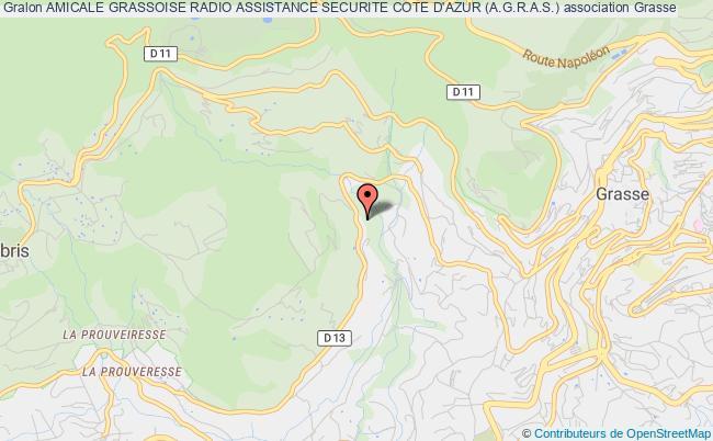 plan association Amicale Grassoise Radio Assistance Securite Cote D'azur (a.g.r.a.s.)