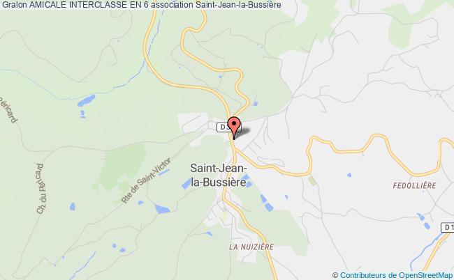 plan association Amicale Interclasse En 6 Saint-Jean-la-Bussière