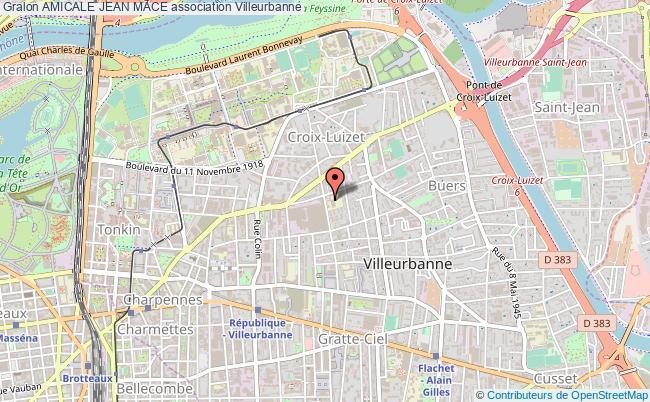 plan association Amicale Jean Mace