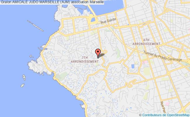 plan association Amicale Judo Marseille (ajm)