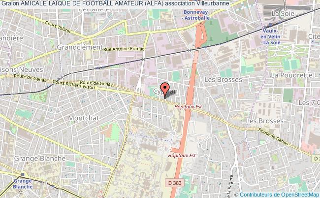 plan association Amicale LaÏque De Football Amateur (alfa)