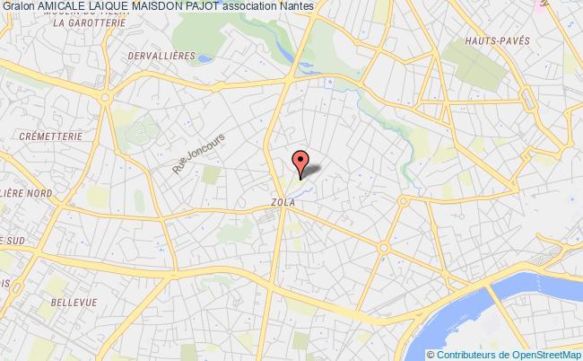 plan association Amicale Laique Maisdon Pajot