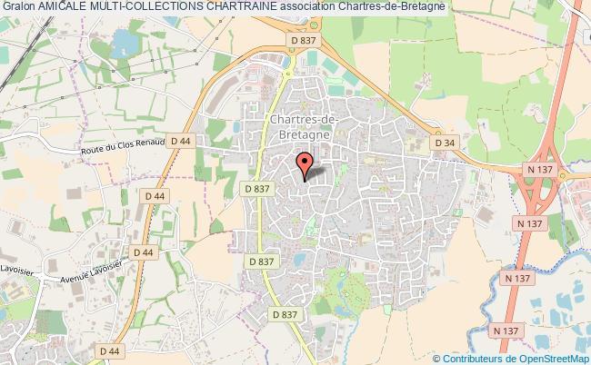 plan association Amicale Multi-collections Chartraine Chartres-de-Bretagne
