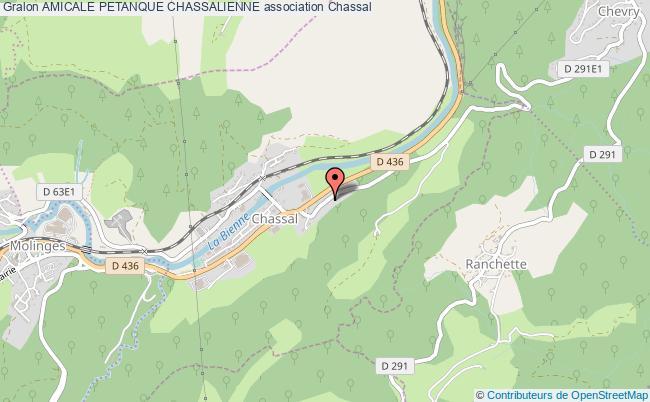 plan association Amicale Petanque Chassalienne