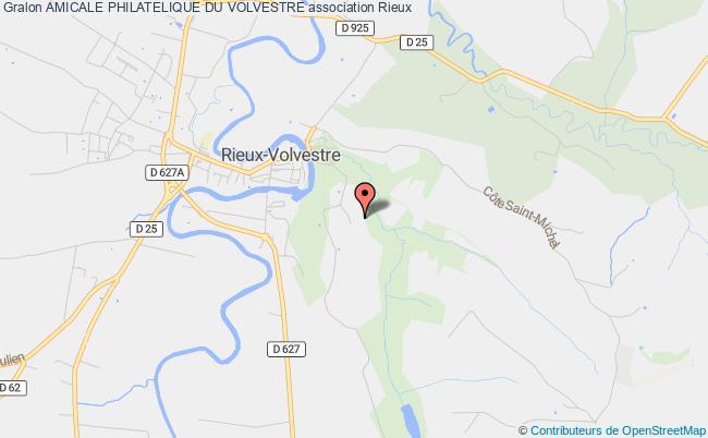 plan association Amicale Philatelique Du Volvestre