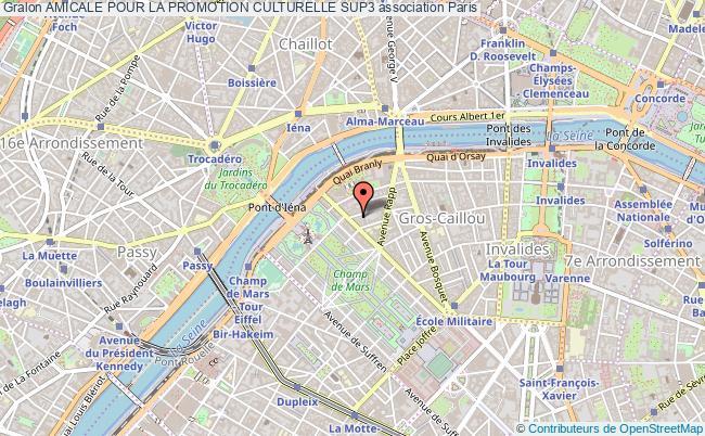 plan association Amicale Pour La Promotion Culturelle Sup3