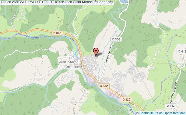 plan association Amicale Rallye Sport