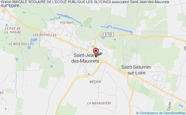plan association Amicale Scolaire De L'ecole Publique Les Glycines