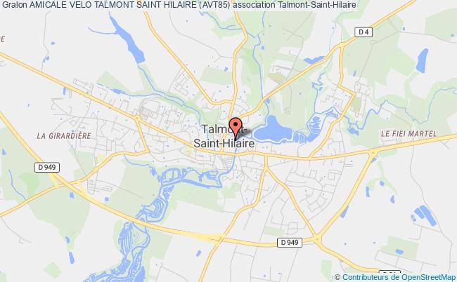 plan association Amicale Velo Talmont Saint Hilaire (avt85)