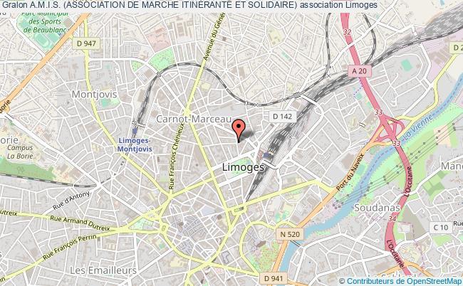plan association A.m.i.s. (association De Marche ItinÉrante Et Solidaire)