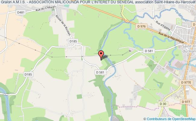 plan association A.m.i.s. - Association Malicounda Pour L'interet Du Senegal