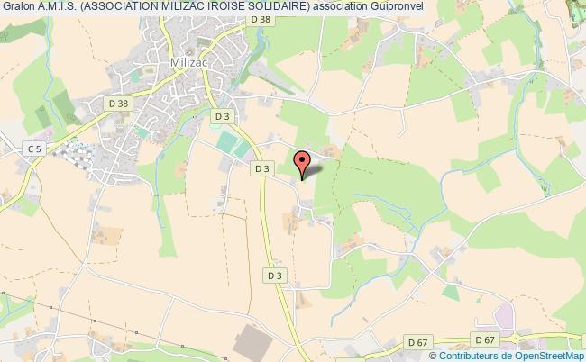 plan association A.m.i.s. (association Milizac Iroise Solidaire)
