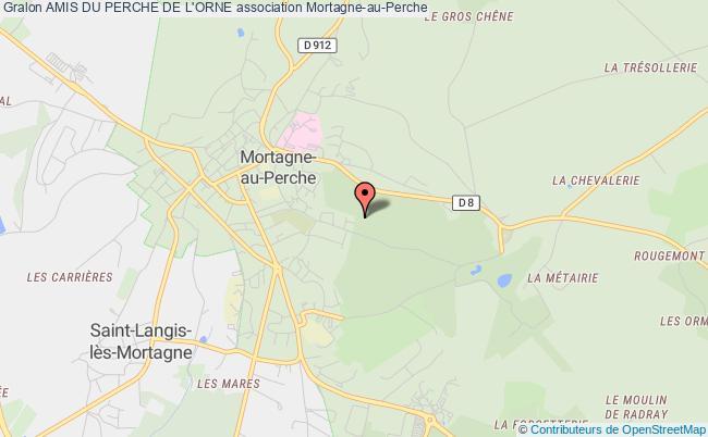 plan association Amis Du Perche De L'orne