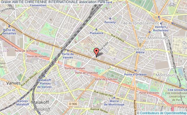 plan association Amitie Chretienne Internationale