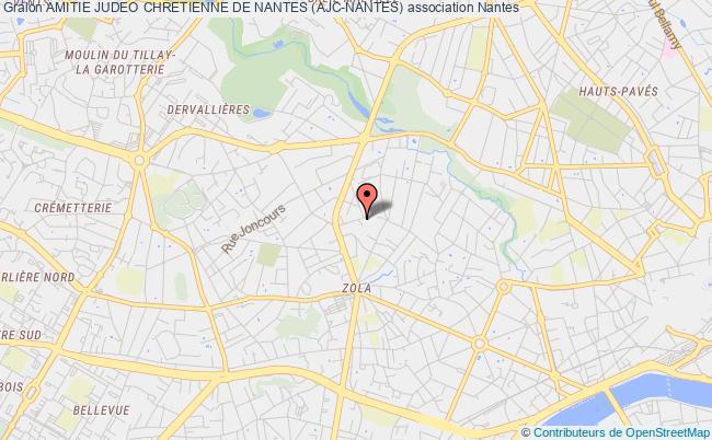 plan association Amitie Judeo Chretienne De Nantes (ajc-nantes)