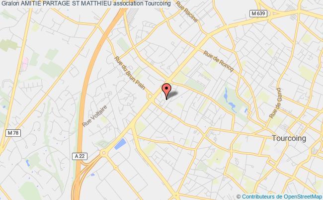 plan association Amitie Partage St Matthieu